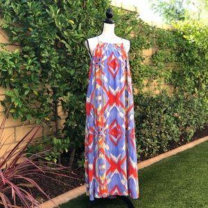 Fun and chic boho maxi dress